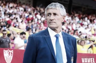 """Quique Setién: """"El árbitro ha sido determinante"""""""