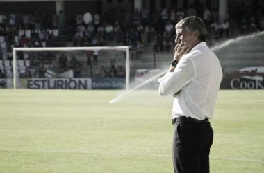 """Quique Setién: """"Estoy arriba no por los goles que marco"""""""