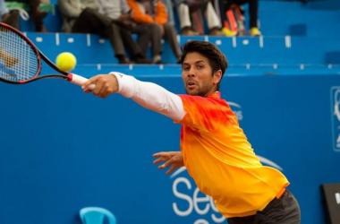 Fernando Verdasco in Quito on Thursday/Photo: Ecuador Open Quito