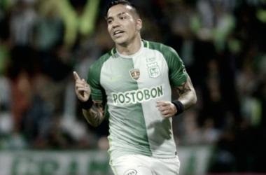 Dayro Moreno lleva 5 goles en la Liga Águila 2018-I. Foto: Colprensa