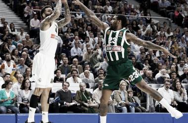 Los tiros libres le dan el primer asalto al Real Madrid ante Calathes (75-72)