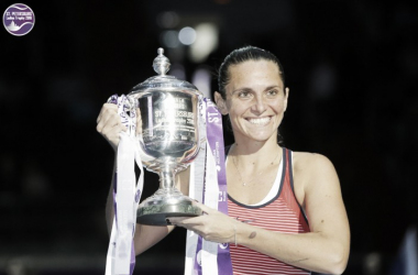 Roberta Vinci is the defending champion here | Photo: WTA St. Petersburg Ladies Trophy