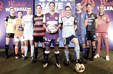 W-League season launch event in Sydney on Monday. | Photo: Australian Associated Press