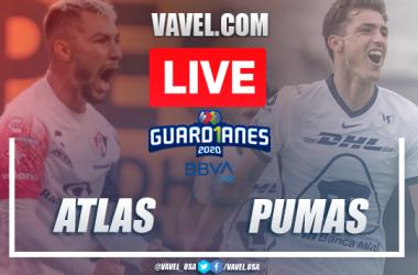 Goals and highlights: Atlas 1-2 Pumas in 2020 Liga MX