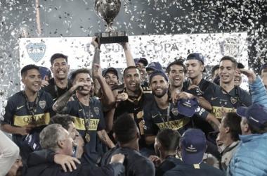 Luego de tres finales perdidas, Boca pudo conquistar la Supercopa Argentina | Foto: Olé