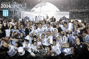 La Academia campeón del torneo e transición 2014 imagen (Olé)