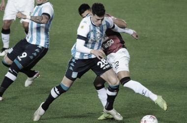El equipo de Avellaneda intentó pero no logró romper la estructura defensiva del visitante. Fuente: Web