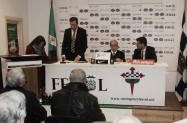 El cuadro departamental celebró su Junta General de Accionistas. | Foto: Racing de Ferrol.
