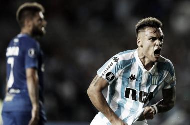 Buen inicio de Racing en Copa Libertadores contra Cruzeiro | FOTO: AS Chile