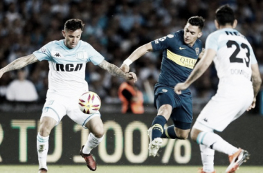 Racing y Boca empatan a dos goles en el Cilindro de Avellaneda   Foto: El comercio