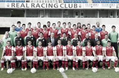 Foto oficial del Real Racing Club. Web oficial del Racing.