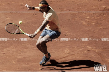 Rafa Nadal durante el último Masters 1000 de Madrid. Foto: Rodrigo Jiménez Torrellas - VAVEL