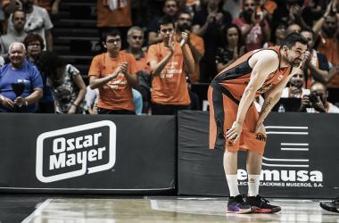 Rafa Martínez en su etapa en Valencia Basket / Foto: ACBCOM