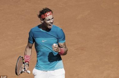 Rafael Nadal strolls through to the Madrid semi-finals, beating Grigor Dimitrov