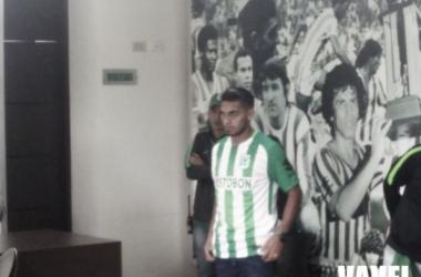 Rafael Delgado se ganó la titular de lateral izquierdo en Atlético Nacional. Foto: Vavel Colombia