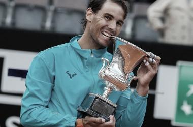 Nadal sonrie. Imagen-ATP