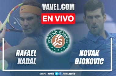 Resumen: Rafael Nadal 1-3 Novak Djokovic en semifinal de Roland Garros 2021