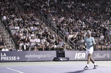Rafa Nadal Vs Fognini en Montreal 2019. / Fuente: Zimbio