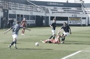 Atletico Rafaela dio la sorpresa y le gano a Suarez