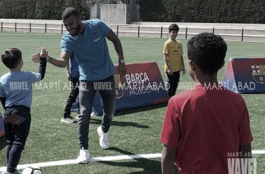 Rafinha, padrino de la Barça Academy World Cup