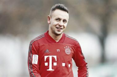 Rafinha está no Bayern desde 2011 (Foto: Twitter oficial do jogador)
