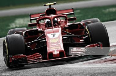 Kimi Räikkönen en el GP de Italia | Fuente: Getty Images