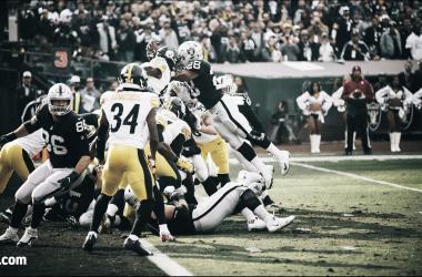 Pittsburg no pudo contener defensivamente a Oakland. Photo: Michael Clemens/Oakland Raiders