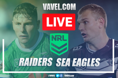 As it happened: Depleted Manly Sea Eagles claim impressive victory over out-of-sorts Canberra Raiders