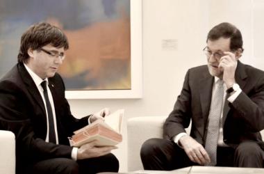 Mariano Rajoy y Carles Puigdemont | Foto: Europa Press