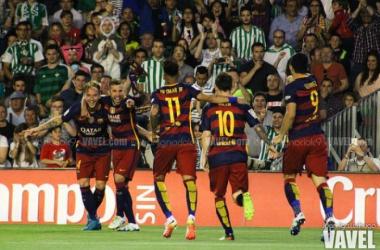 Betis-Barcelona, puntuaciones Barcelona, jornada 36 de Liga