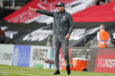 Ralph Hasenhüttl: The whole performance against Everton was grown up