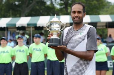 Rajeev Ram captures second title in Newport, Rhode Island / courtesy ofatpworldtour.com