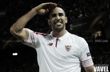 El reencuentro de Adil Rami con la afición de Mestalla