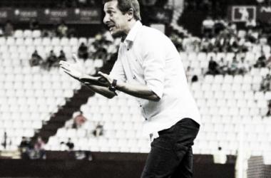 Ramis dirigiendo un partido. Foto: Albacete Vavel