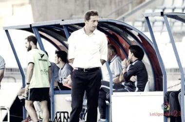 Ramis durante el encuentro frente al Huesca | LaLiga123
