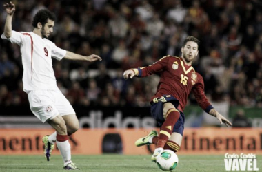 Ramos jugó de inicio. Imagen: Vavel