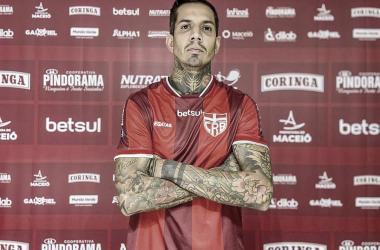 Victor Ramos espera CRB atento para manter boa fase na Série B