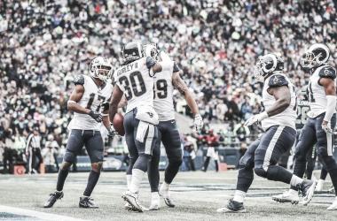 Los Rams siguen invictos en esta temporada NFL con un brillante Todd Gurley | Foto: therams.com