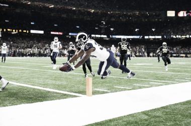 Los Saints se impusieron a los Rams // Foto: NFL Network