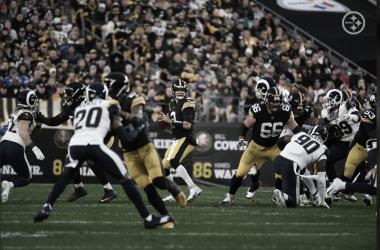 Los Steelers vuelven a sacar los colores a los Rams
