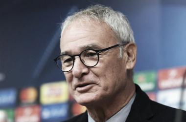Caludio Ranieri, twitter @ChampionsLeague