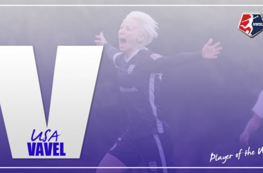 Megan Rapinoe named the Week 7 NWSL Player of the Week
