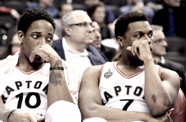 As the All-Star break nears, the Toronto Raptors are losing their grip. Photo: Frank Gunn/The Canadian Press