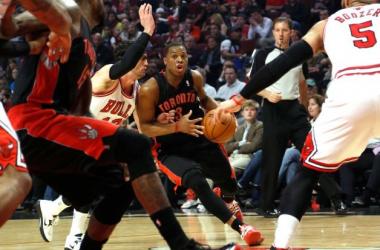 Com lance polêmico, Bulls perde para Raptors