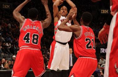 Chicago Bulls perde para Raptors e deixa a quinta colocação para o Hawks