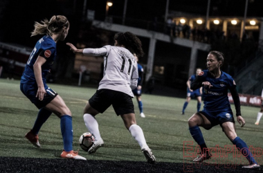Raquel Rodriguez had the game-winner for Sky Blue | Source: Earchphoto - VAVEL USA