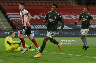 <div>SHEFFIELD, ENGLAND - DECEMBER 17: (Photo by Matthew Peters/Manchester United via Getty Images)</div><div><br></div>