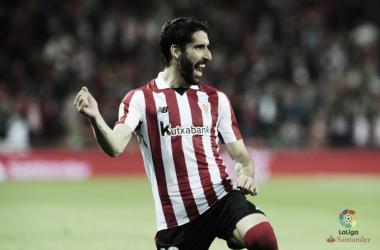 Raúl García ya es el máximo goleador en liga del Athletic
