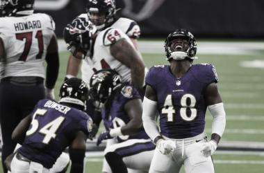 Ravens se aprovechan de una endeble defensiva texana