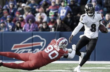 Ravens vence a Bills y ya tiene su boleto a playoffs